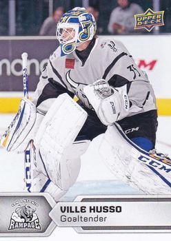 2017-18 Upper Deck AHL #2 Ville Husso Front