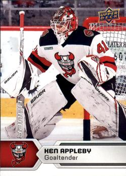 2017-18 Upper Deck AHL #21 Ken Appleby Front