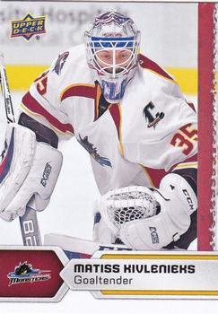 2017-18 Upper Deck AHL #22 Matiss Kivlenieks Front