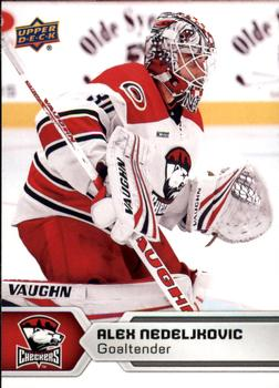 2017-18 Upper Deck AHL #25 Alex Nedeljkovic Front