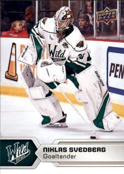 2017-18 Upper Deck AHL #44 Niklas Svedberg Front