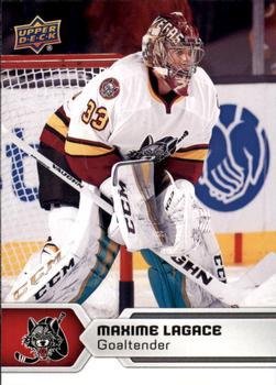 2017-18 Upper Deck AHL #71 Maxime Lagace Front