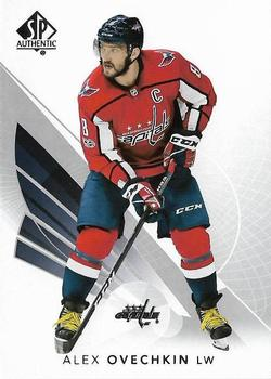 2017-18 SP Authentic #30 Alexander Ovechkin Front