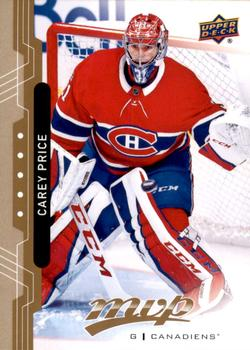 2018-19 Upper Deck MVP #206 Carey Price Front