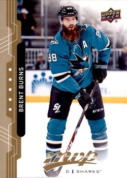 2018-19 Upper Deck MVP #217 Brent Burns Front