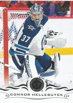 2018-19 Upper Deck #193 Connor Hellebuyck Front