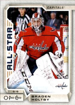2018-19 O-Pee-Chee #120 Braden Holtby Front