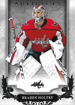 2018-19 Upper Deck Artifacts #5 Braden Holtby Front