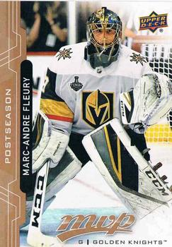 2018-19 Upper Deck MVP - Postseason #PS1 Marc-Andre Fleury Front