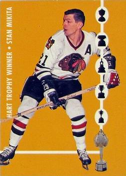 1995-96 Parkhurst '66-67 - Trophy Winners #TW1 Stan Mikita Front