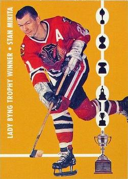 1995-96 Parkhurst '66-67 - Trophy Winners #TW3 Stan Mikita Front