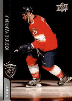 2020-21 Upper Deck #81 Keith Yandle Front