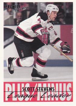 1994-95 O-Pee-Chee Premier #153 Scott Stevens Front