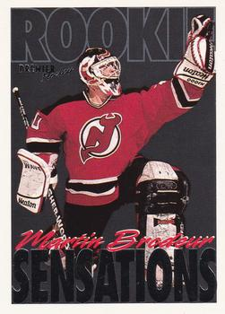 1994-95 O-Pee-Chee Premier #190 Martin Brodeur Front