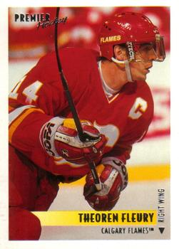 1994-95 O-Pee-Chee Premier #295 Theo Fleury Front