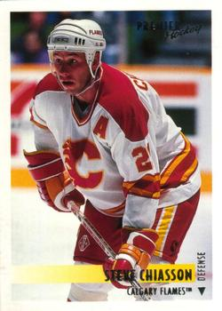 1994-95 O-Pee-Chee Premier #327 Steve Chiasson Front