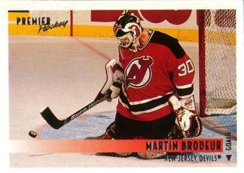 1994-95 O-Pee-Chee Premier #470 Martin Brodeur Front