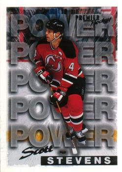 1994-95 O-Pee-Chee Premier #494 Scott Stevens Front