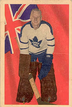 1963-64 Parkhurst #65 Johnny Bower Front
