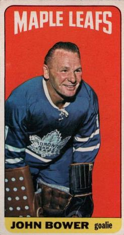 1964-65 Topps #40 Johnny Bower Front