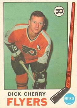 1969-70 O-Pee-Chee #173 Dick Cherry Front