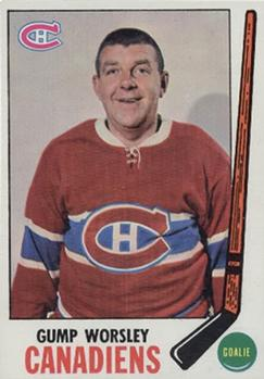 1969-70 Topps #1 Gump Worsley Front