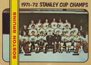 1972-73 Topps #1 Boston Bruins Front