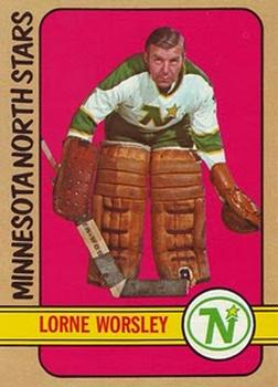 1972-73 Topps #55 Gump Worsley Front