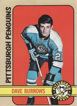 1972-73 Topps #82 Dave Burrows Front