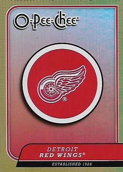 2008-09 O-Pee-Chee - Team Checklists #CL11 Detroit Red Wings Front