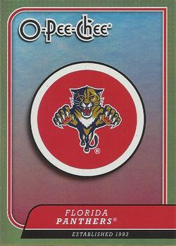 2008-09 O-Pee-Chee - Team Checklists #CL13 Florida Panthers Front