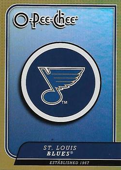 2008-09 O-Pee-Chee - Team Checklists #CL26 St. Louis Blues Front
