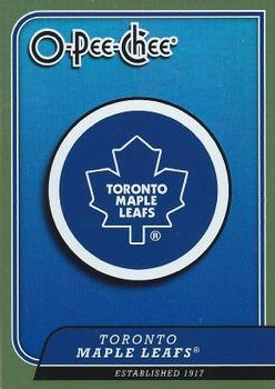 2008-09 O-Pee-Chee - Team Checklists #CL28 Toronto Maple Leafs Front