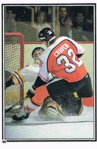 1987-88 O-Pee-Chee Stickers #69 Bill Ranford / Murray Craven Front
