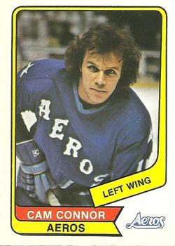 1976-77 O-Pee-Chee WHA #89 Cam Connor Front