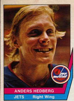 1977-78 O-Pee-Chee WHA #3 Anders Hedberg Front