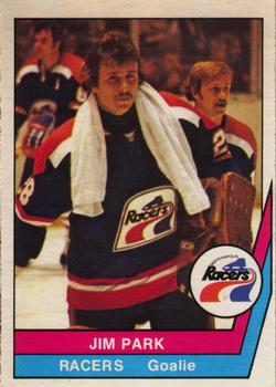 1977-78 O-Pee-Chee WHA #56 Jim Park Front