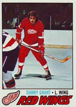 Danny Grant Hockey Card 1975-76 Topps #49 Danny Grant