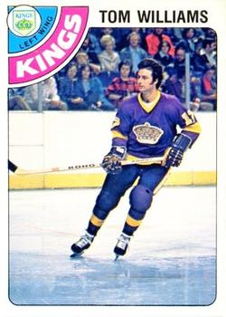 Tom Williams (ice hockey, born 1951) Tom Williams Gallery The Trading Card Database
