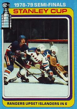 1979-80 Topps #82 1979-80 Stanley Cup Semi-Finals Front