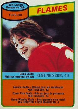 1980-81 O-Pee-Chee #106 Kent Nilsson Front