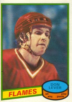 1980-81 O-Pee-Chee #124 Don Lever Front