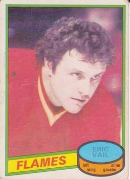 1980-81 O-Pee-Chee #15 Eric Vail Front