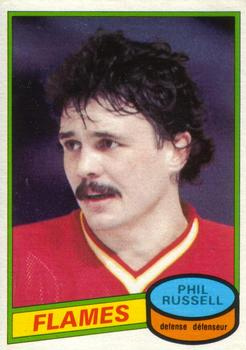 1980-81 O-Pee-Chee #226 Phil Russell Front