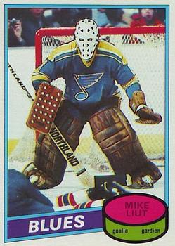 1980-81 O-Pee-Chee #31 Mike Liut Front