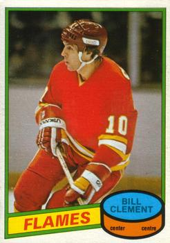 1980-81 O-Pee-Chee #376 Bill Clement Front