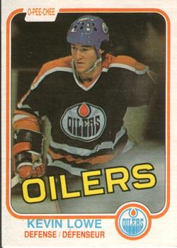 1981-82 O-Pee-Chee #117 Kevin Lowe Front