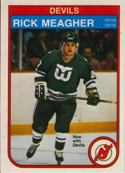 best authentic dbfe9 c1cb8 1982-83 O-Pee-Chee #144 Rick Meagher | The Trading Card Database