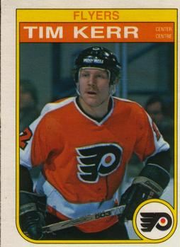 1982-83 O-Pee-Chee #253 Tim Kerr Front
