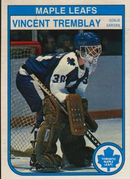 1982-83 O-Pee-Chee #334 Vincent Tremblay Front